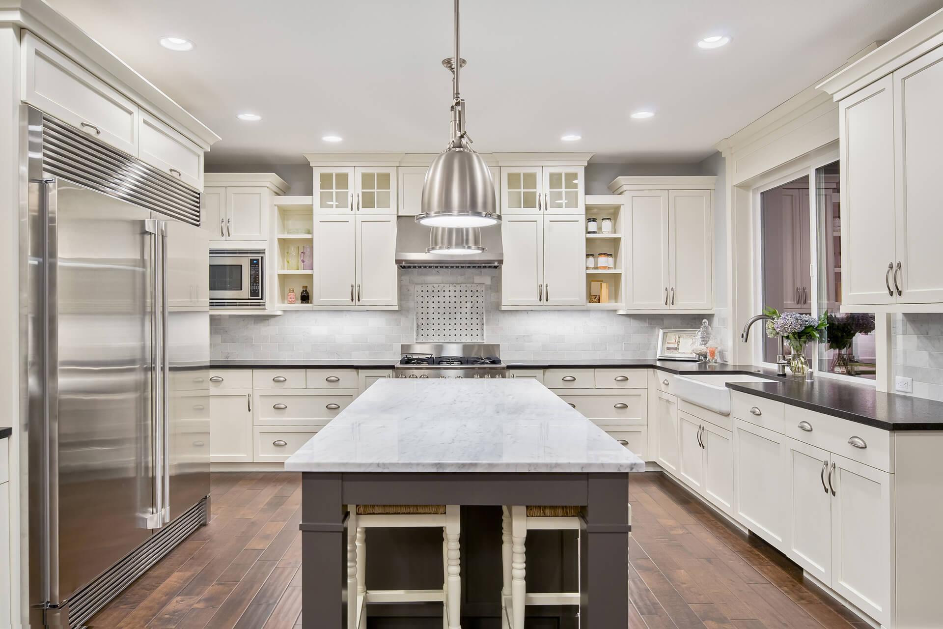 Kitchen Renovation Kitchen Marble Stainless Steel